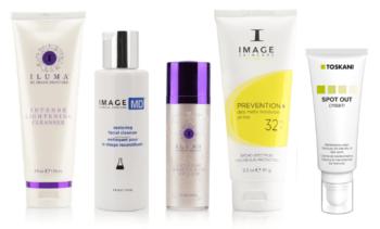 5-producten-pigment-verminderen-image-skincare-iluma-cleanser-md-cleanser-iluma-serum-prevention-32-toskani-spot-out-cream