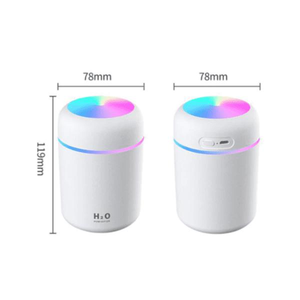 Afmetingen humidifier luchtbevochtiger