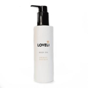 Loveli natuurlijke body olie zonder slechte ingredienten