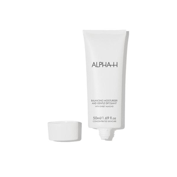 ALPHA-H Balancing moisturizer & Gentle exfoliant nachtcreme voor acne