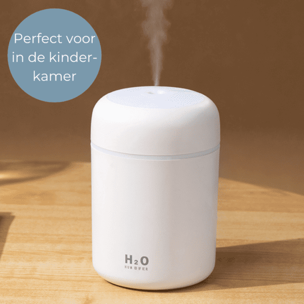 Perfect voor in de kinderkamer luchtbevochtiger humidifier