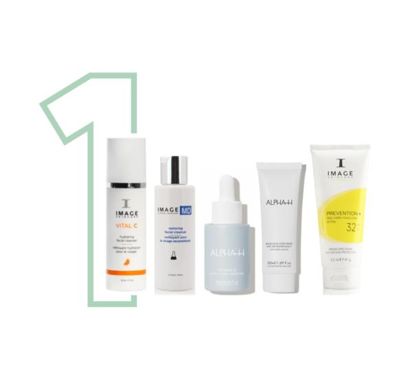 Top 10 - 5 producten droge acne huid