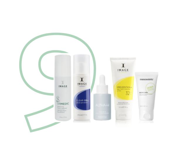 Top 10 - 5 producten vette acne huid
