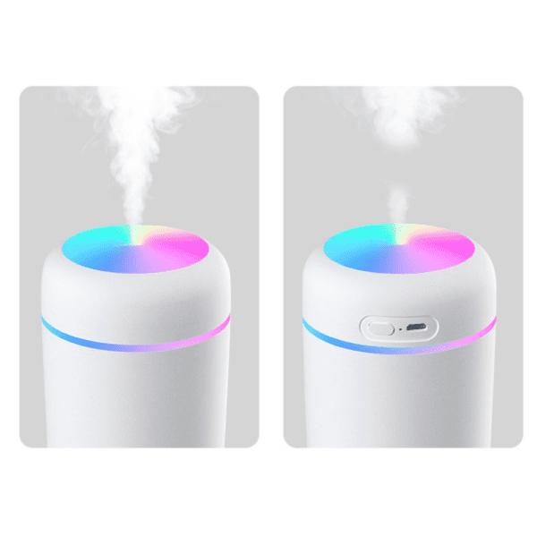 Twee standen humidifier - intermittent en continu