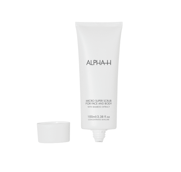 micro cleanse super scrub for face and body van alpha H