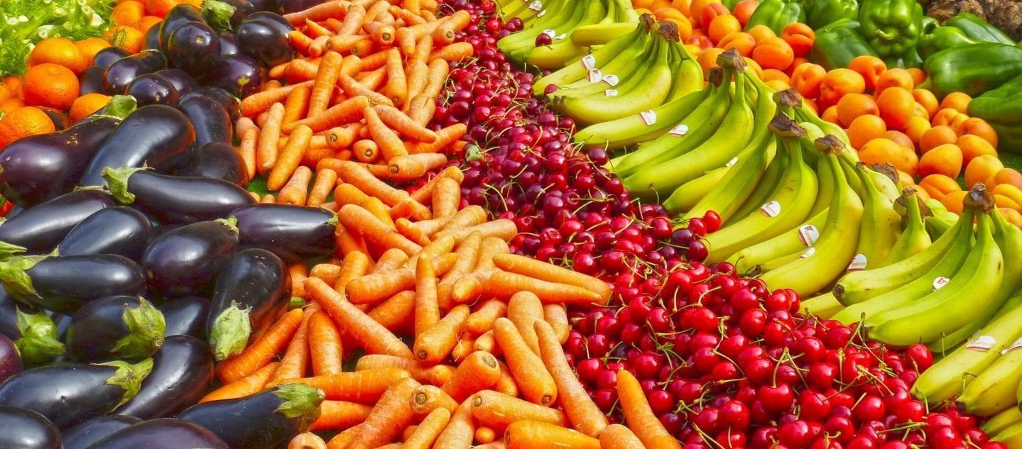 Voeding gezond voor mannen | wortels, bananen, fruit en groente