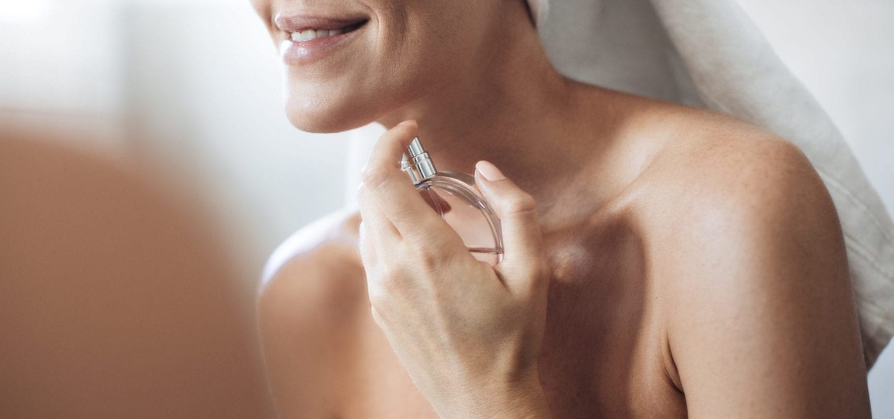 Pigmentvlekken in nek door gebruik van parfum